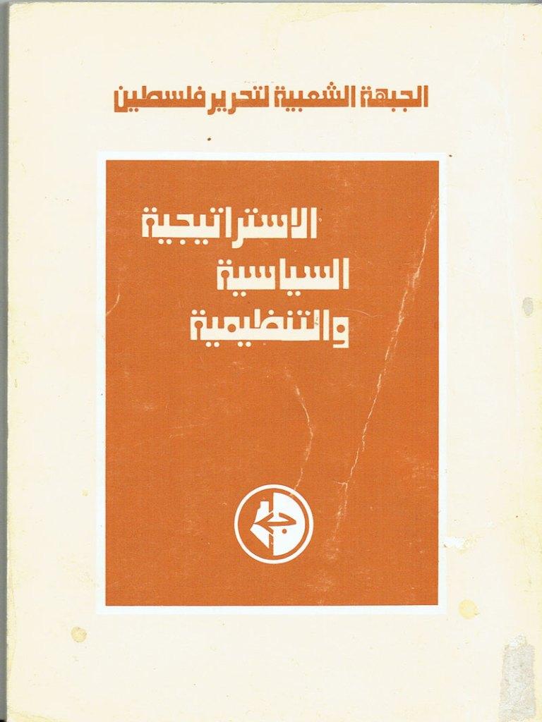 1969 – الاستراتيجية السياسية والتنظيمية